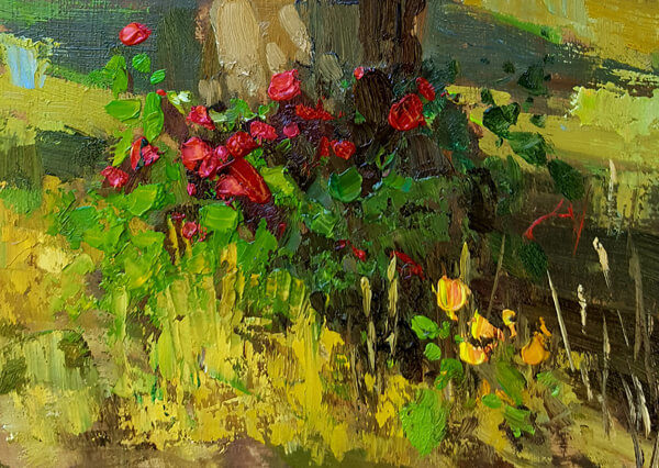 Sean Wallis pleinair painting