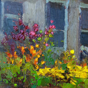 Sean Wallis pleinair painting