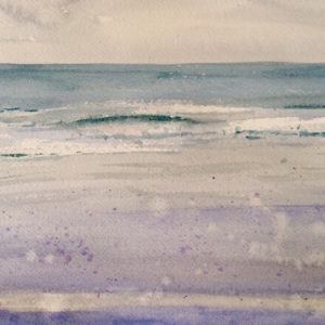 ogunquit maine watercolor by Doug Farrick