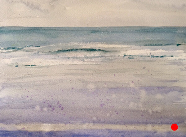 ogunquit maine watercolor by Doug Farrick