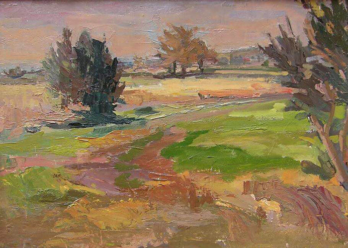 colorful and painterly plein air painting